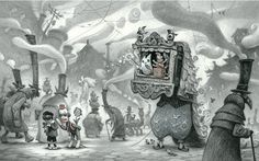 peter chan - concept artist, illustrator