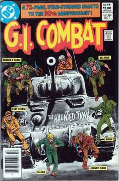 Silver and Bronze Age Subjects: DC Big 5 War Comics: G I Combat