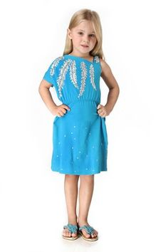 haven girl silver feather dress