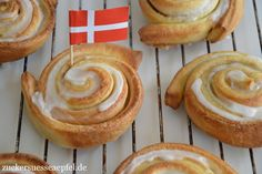 ♥Zuckersüße Äpfel - kreativer Familienblog und Mamablog♥: Ein original Rezept für dänische Zimtschnecken