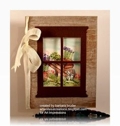 ART IMPRESSIONS STAMPS: A Window into Watercolor