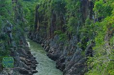 pretty canyon in Panama