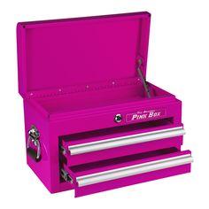 The Original Pink Box – 18-Inch 2-Drawer Mini Chest