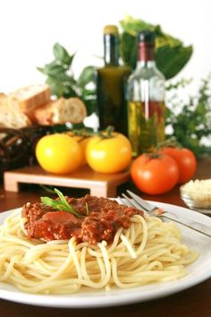 Spaghetti Sauce Recipe - one of our many low glycemic recipes.