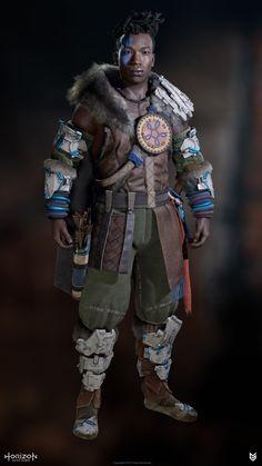 Game Character, Character Concept, Concept Art, Fantasy Character Design, Character Inspiration, Horizon Zero Dawn Cosplay, Cyberpunk, Horizon Zero Dawn Aloy, Tribal Warrior