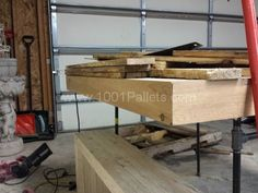 20141205_171339 pallet table, piping frame