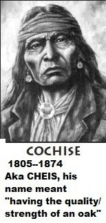 Chief Naiche - Chiricahua Apache: Naiche was the son of the greatest of Apache chiefs, Cochise, and the grandson of another, Mangas Coloradas. I searched for this on /images