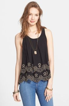 Free People 'Toosaloosa' Tank available at #Nordstrom
