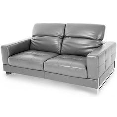 Check more at http://www.aventesofa.net/contemporary-grey-leather-loveseat/