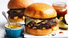 Adam Liaw's easiest-ever cheeseburger