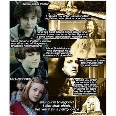 Harry Potter Random Facts ❤ liked on Polyvore