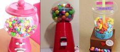 Make Your Own Gum Ball Dispenser./ Haz Tu Propio Dispensador de Chicles. - Hoy proponemos como regalo original una máquina de chicles casera, ¿qué os parece? Podéis elegir entre tres diseños diferentes.