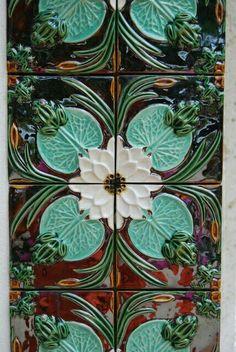 Tiles for summer kitchen. LOVE LOVE
