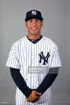 Gleyber Torres of the New York Yankees poses during Photo Day on Tuesday, February 21, 2017 at George M. Steinbrenner Field in Tampa, Florida.