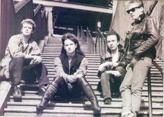 Bono's hair! I just can't