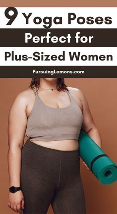 9 Yoga Poses Perfect for Plus-Sized Women - - If you're plus-sized that's trying to lose weight, this list of yoga poses for plus-sized women is the perfect low-intensity workout for you. Yoga Meditation, Yoga Bewegungen, Vinyasa Yoga, Yin Yoga, Yoga Flow, Yoga Moves, Yoga Workouts, Fitness Workouts, Plus Size Yoga