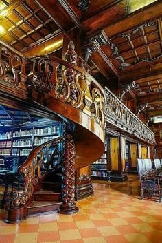 Beautiful Libraries...Public Library, Lima, Peru