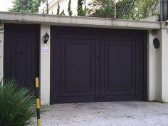 House Main Door, House Main Gates Design, Front Gate Design, Door Gate Design, Garage Door Design, Gate House, House Front Design, House With Porch, Small House Design