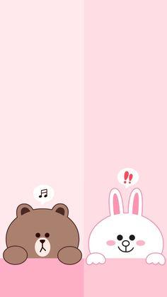 Bear and bunny wallpape samsung Wallpaper Wa, Cute Panda Wallpaper, Blue Wallpaper Iphone, Lines Wallpaper, Cute Disney Wallpaper, Kawaii Wallpaper, Cute Wallpaper Backgrounds, Galaxy Wallpaper, We Bare Bears Wallpapers