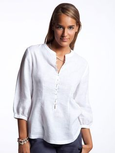 White Lucian Beach Tunic - Women's Resort Wear | Island Company