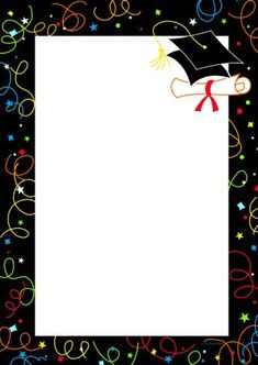Graduation swirls invitations from great papers. text x 11 invitations with graduation swirls.