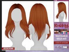 The Sims 4 NIGHTCRAWLER BREEZE HAIR TODDLER VERSION
