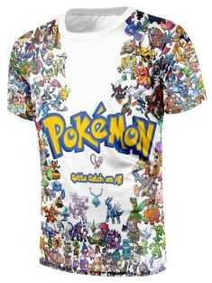 1456e04e Pokemon GO All Species Pikachu Simple Design Dope Streetwear T-Shirt  #pokémon #anime