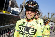 Alé Cipollini Team in Lazer Blade helmet!