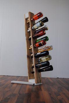 Wandregale - Palettenmöbel Wein Halter -IrekHOLZART - ein Designerstück von IrekHolzart bei DaWanda