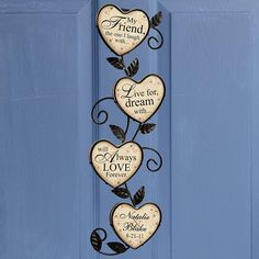 Love Forever Wall Hanging