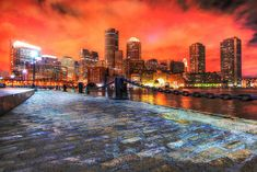 Boston Cityscape at Night 02 Stock Photo - Only Amazing Royalty-Free Pictures at Great Prices - We hope you'll enjoy them as much as we do. Come visit us ! Royalty Free Pictures, Royalty Free Stock Photos, Professional Image, Online Images, Us Images, Image Photography, New York Skyline, Photo Galleries, Night