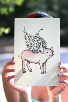 When Pigs Fly by MakeNiceDesignCo on Etsy https://www.etsy.com/listing/201380472/when-pigs-fly