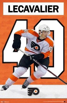 Vincent LeCavalier will wear number 40 for the Philadelphia Flyers