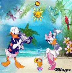 Minnie Topolino Donald Daisy Disney Adesivo Decalcomania Muro Deco