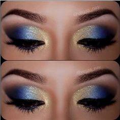 Resultado de imagen para blue makeup ideas