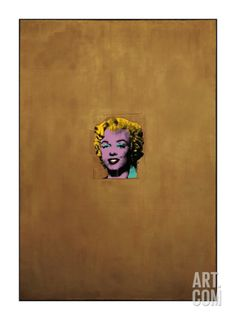 Gold Marilyn Monroe, 1962 Giclee Print by Andy Warhol at Art.com