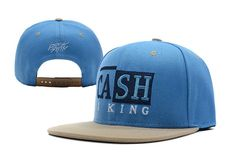 Rocksmith Cash Is King Snapback Hat Blue , cheap discount  $6 - www.hats-malls.com