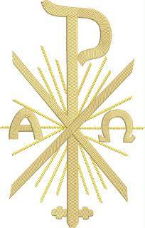 Chi Rho, Christian Symbols, Corpus Christi, Decoration, Silhouette Cameo, Embroidery Designs, Letters, Tattoos, Crosses