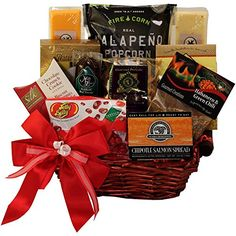 Gluten free cookie mix gift basket gluten soy corn potato free art of appreciation gift baskets some like it hot spicy gift chest click negle Gallery