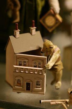 dollhous, toy, teddi bear, tiny houses, doll houses