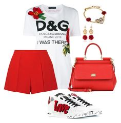 """""""Casual D&G"""" by pitaa29 on Polyvore featuring Dolce&Gabbana and Alice + Olivia"""