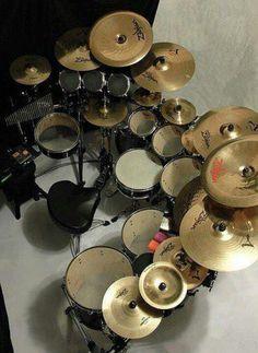 Nice Zildjans / cool set up
