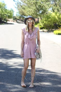 Ruffle romper and mirrored sunglasses. Ascot Style, Derby Day, Ruffle Romper, Royal Ascot, Race Day, Kendall, Steve Madden, Mirrored Sunglasses, Creativity