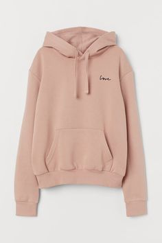 Long-sleeved top in soft sweatshirt fabric with a jersey-lined, drawstring hood, kangaroo pocket and ribbing at the cuffs and hem. Hm Outfits, Teenage Outfits, Cute Comfy Outfits, Teen Fashion Outfits, Punk Fashion, Lolita Fashion, Fashion Dresses, Tomboy Outfits, Paris Fashion
