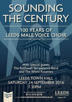 Final poster. Sounding The Century. September 2016.