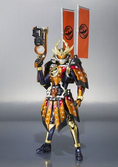Amazon.com: Bandai Tamashii Nations S.H. Figuarts Kamen Rider Gaim Kachidoki Arms Action Figure: Toys & Games