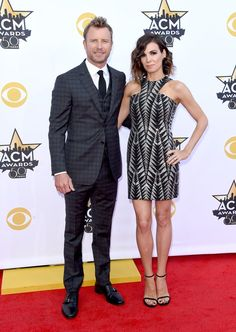 Pin for Later: The 50th ACM Awards Bring Out Country Stars, Hot Couples, and Even Sofia Vergara! Dierks Bentley and Cassidy Black