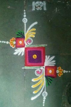 how to make easy rangoli designs step by step