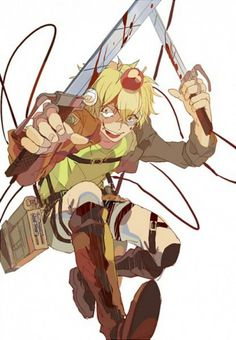 Happy Tree Friends (HTF)- Nutty crossover Attack on Titan #Anime