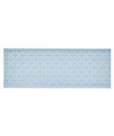 Attingham™ Powder Blue Geometric Decor Tile